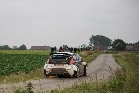 Rally Ypres, cuts plus sump guards equals sparks.